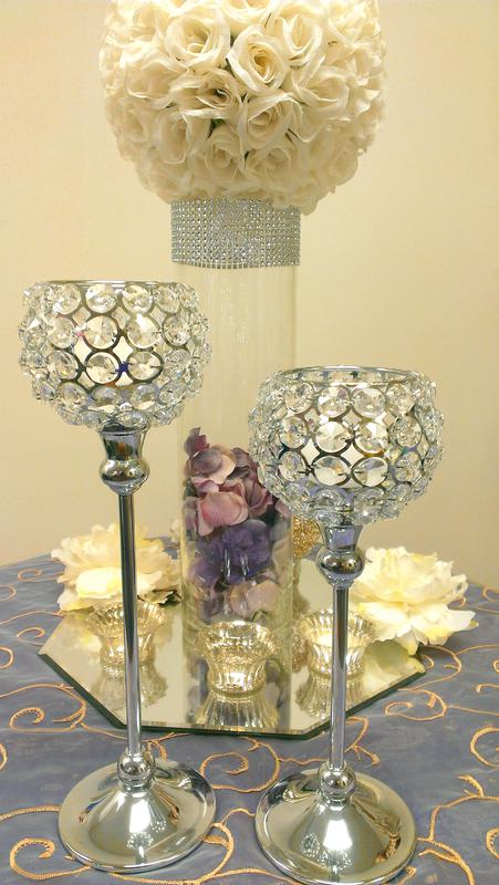 Table candle holders centerpieces imgkid the